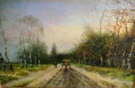 Apol olieverf schilderij