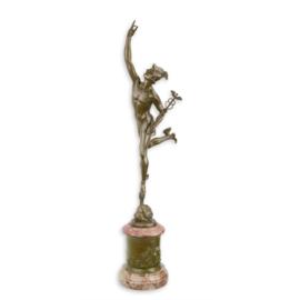 Vrouw Fortuna bronzen beeld