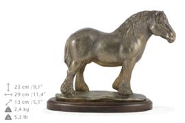 Percheron brons paarden beeld