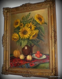 Antiek schilderij A.J. van Eijbergen