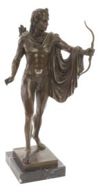 Apollo bronzen beeld
