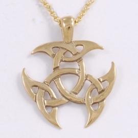 Bronzen Keltische knoop set