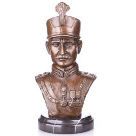 Bronzen buste van keizer Karl I
