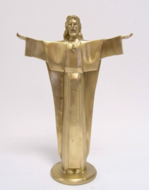 Jezus Christus van Nazareth brons beeld