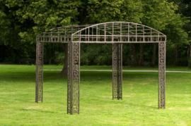 Vierkante luxe metalen paviljoen