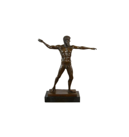 Poseidon van Artemision brons beeld
