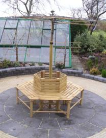 Boombank van Bamboe