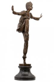 Bronzen Sherazade danseres