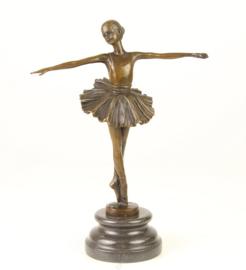 Ballerina ballet danseres beeld