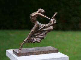 Ballerina danseres bronzen beelden