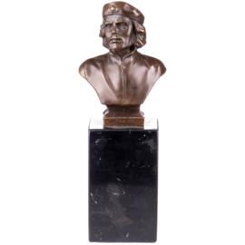 Bronzen buste van Che Guevara
