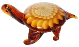 Schildpad glas in Murano stijl