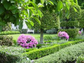Gietijzeren tuinbank White House