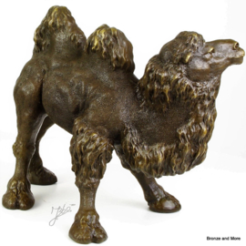 Kameel bronzen beeld