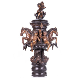 Bronzen beeldenfontein