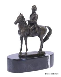 Napoleon te paard beeld