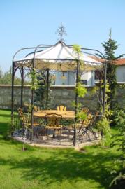 Paviljoen, prieel ijzer Luxemburg