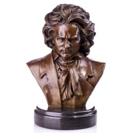 Beethoven bronzen buste beeld