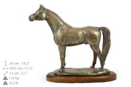 Arabier brons paarden beeld