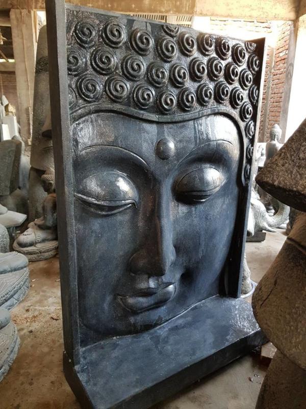 Boeddha gezicht waterornament