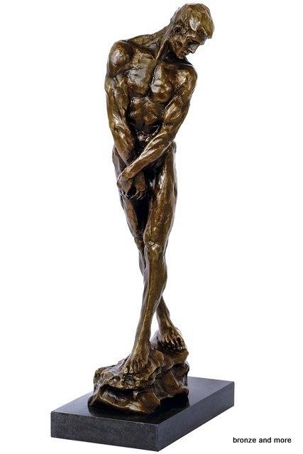 Bronzen Adam beeld The gates of hell
