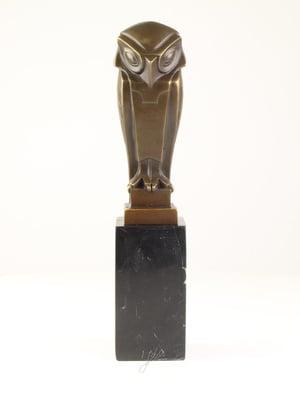 Bronzen Johan Altorf uil beeld