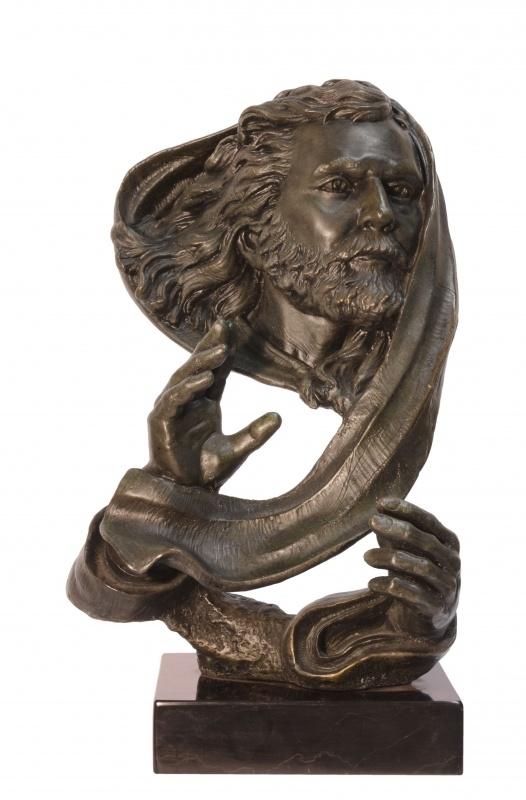 Mozes bronzen beeld