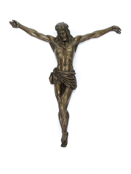 Bronzen Jezus van Nazareth beeld