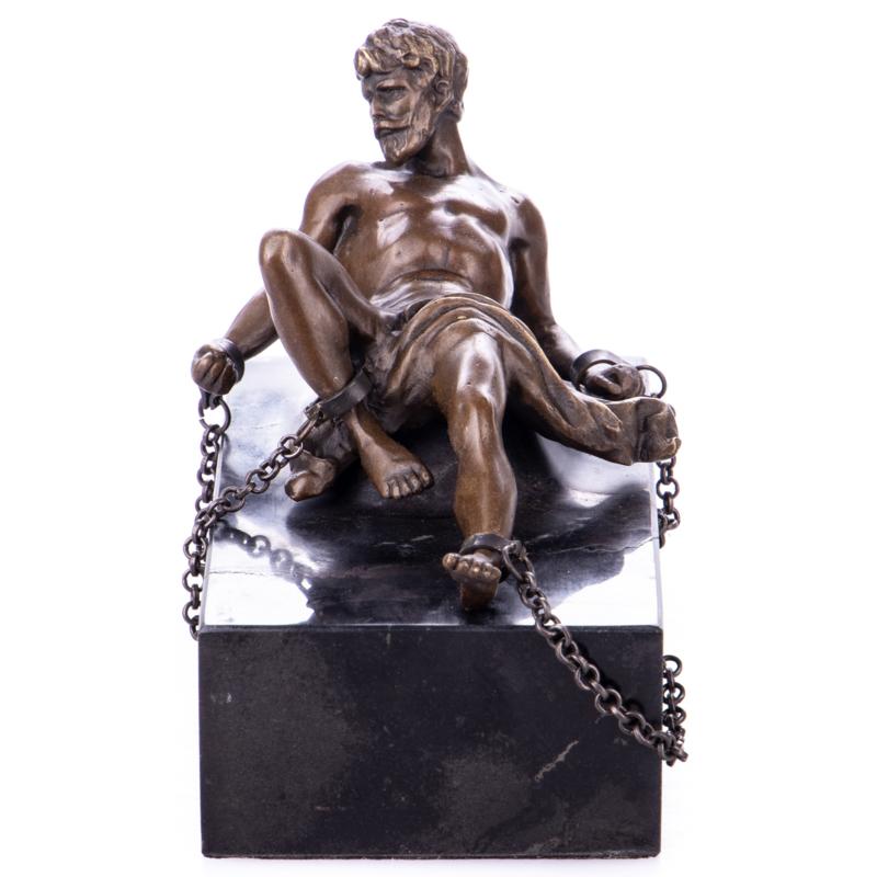 Prometheus bronzen beeld
