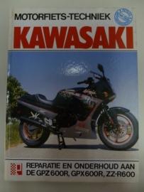 Kawasaki GPZ600R, GPX600R en ZZR600 Peter`s