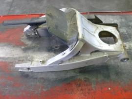 YZF-R6`99-`02 Achterbrug compleet