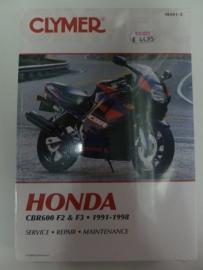 Honda CBR600F2/ F3 1991-1998 Clymer