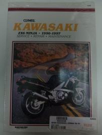 Kawasaki ZX6 Ninja 1990-1997 Clymer
