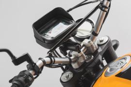 "SW-Motech Universele GPS-kit , voor 22 mm/28 mm/1"" stuur, incl. Navi Bag M"