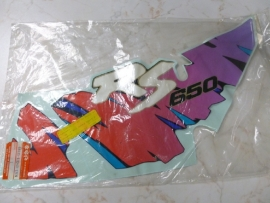 Sticker Suzuki DR650 RS