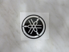 Sticker Yamaha logo 50mm