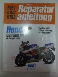 Honda CBR900RR vanaf bj. 1992 Reparatur anleitung