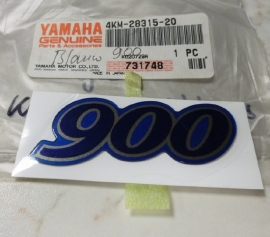 Sticker Yamaha XJ900S Diversion