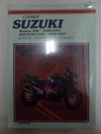 Suzuki Katana 600 1988-1993 & GSX-R750/ 1100 1986-1987 Clymer