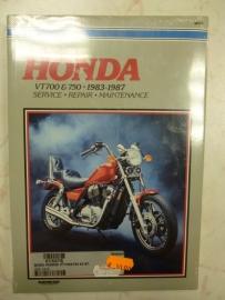 Honda VT700 en 750  BJ.1983-1987