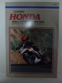 Honda 500cc V-Fours 1984-1986 Clymer