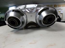 Yamaha FZ6S /N Uitlaat /Demper pot