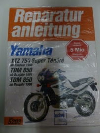 Yamaha XTZ750 Super Ténéré & TDM850 Reparatur anleitung