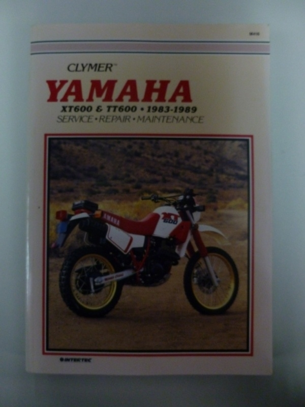 Yamaha XT600 & TT600 Clymer