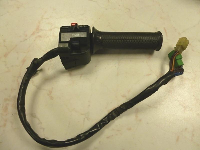GPZ600R Gashandvat compleet