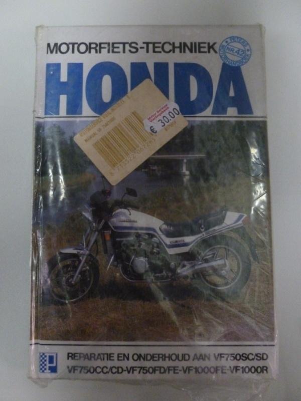 Honda VF750CC/CD-VF750FD/FE-VF1000FE-VF1000R Peter`s