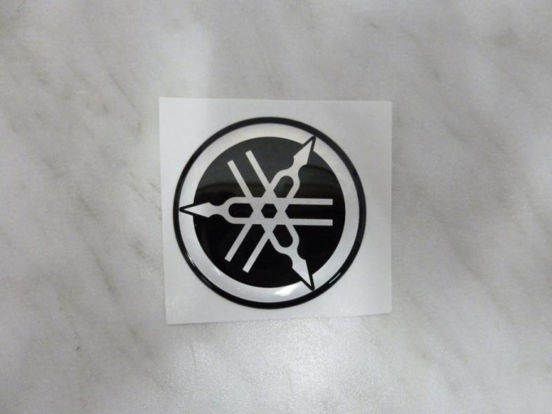 Sticker Yamaha logo 50mm