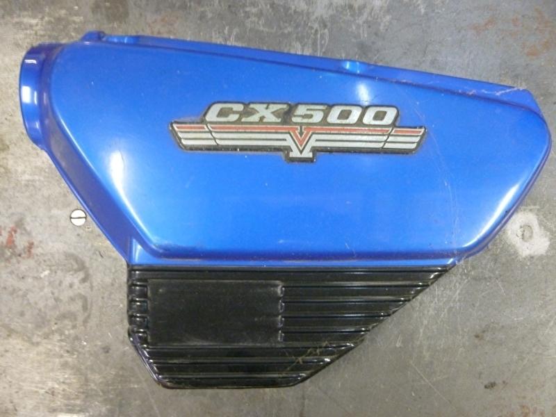 CX500`78 zijkapje links