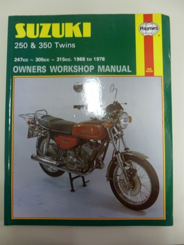 Suzuki 250cc & 300cc Twins 1968-1978 Haynes