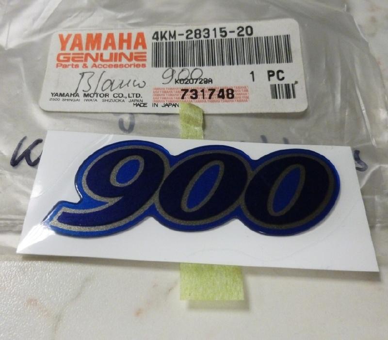 Sticker Yamaha XJ900S Diversion